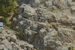 古老Nimrodâs堡垒 免版税库存照片