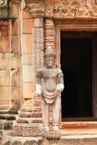 古老pimai寺庙泰国 库存图片