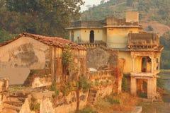 古老rajputana皇家建筑学 库存图片