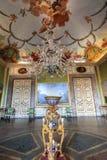 古老Reggia二卡塞尔塔的室在意大利 库存照片