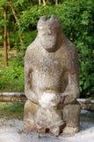 古老scythian雕象石头 免版税库存图片