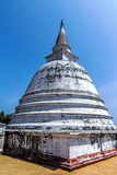 古老stupa, Dagoba在Polonnaruwa斯里兰卡 免版税库存照片