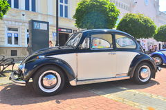 古老VW甲虫汽车在萨诺克 库存照片