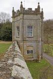 古老Wardour城堡警卫室 库存图片