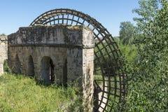 古老watermill废墟在科多巴 免版税库存图片