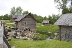 古老watermill 免版税库存图片