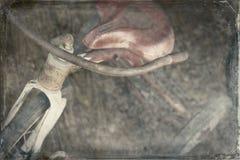 古色古香的三轮车 库存图片
