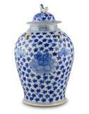 古色古香的中国花瓶 免版税库存图片