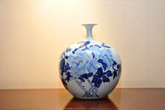 古色古香的中国花瓶 库存照片