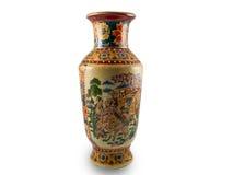 古色古香的中国花瓶 图库摄影