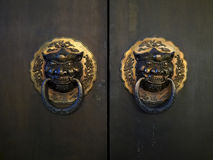 古色古香的中国门 图库摄影