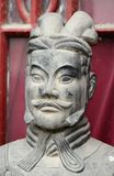 古色古香的中国雕象 免版税图库摄影
