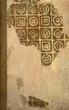 古色古香的书套 免版税库存照片