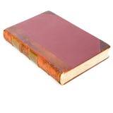 古色古香的书皮革 免版税图库摄影