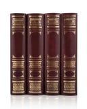 古色古香的书集合 库存照片
