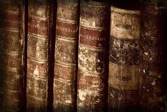 古色古香的书 免版税图库摄影