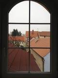 古色古香的五颜六色的视窗 库存图片