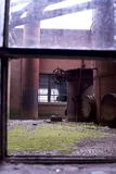 古色古香的五颜六色的视窗 库存照片