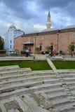 古色古香的体育场普罗夫迪夫保加利亚 免版税库存图片