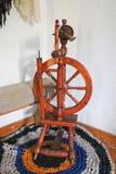 古色古香的俄国手纺车 免版税库存图片