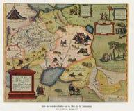 古色古香的俄罗斯帝国MOSCOVIA 1571 库存照片