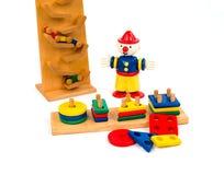古色古香的儿童` s玩具 免版税库存图片