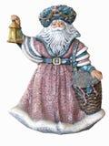 古色古香的克劳斯・圣诞老人 免版税库存照片