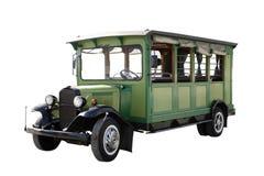 古色古香的公共汽车 免版税库存图片