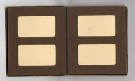 古色古香的册页页 库存照片