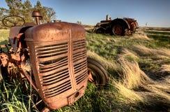 古色古香的农场设备 免版税库存图片