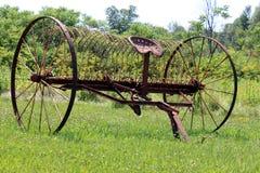 古色古香的农场设备 库存图片