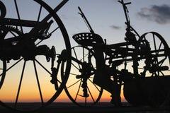 古色古香的农场设备 免版税图库摄影