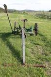 古色古香的农场设备 库存照片