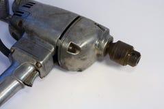 古色古香的冲击式钻机 图库摄影