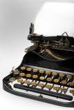 古色古香的减速火箭的打字机 免版税图库摄影