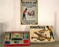 古色古香的历史儿童的Merkur 免版税图库摄影