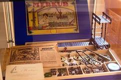 古色古香的历史儿童的Merkur 免版税库存照片