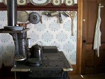 古色古香的厨房 库存照片