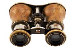 古色古香的双筒望远镜 免版税库存图片