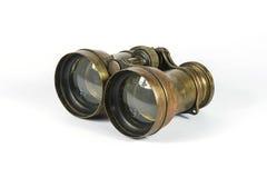 古色古香的双筒望远镜 图库摄影