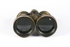 古色古香的双筒望远镜 库存图片