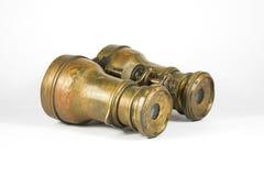 古色古香的双筒望远镜 免版税库存照片