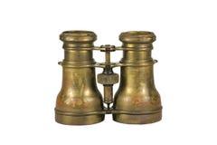 古色古香的双筒望远镜 库存照片