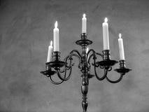 古色古香的古铜色枝形吊灯法语 免版税库存照片