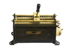 古色古香的可变电阻器 免版税库存照片
