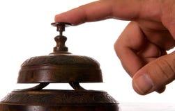 古色古香的响铃服务 库存图片