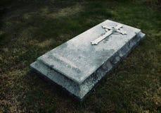 古色古香的坟茔 免版税图库摄影