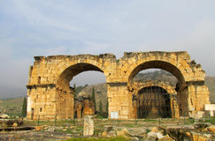 古色古香的城市废墟 图库摄影