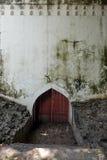 古色古香的墙壁墙壁难看的东西纹理 图库摄影