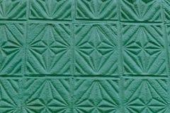 古色古香的墙壁样式被盖印的膏药 库存图片